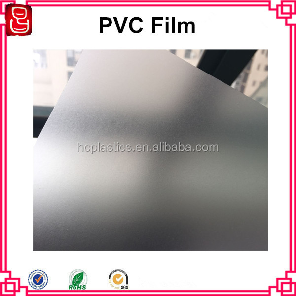 Various Embossing PVC Matt Film Flexible Plastic Film