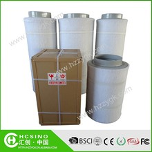 Hydroponic Grow System Hepa Filter Cartridge Air Filter Activated Charcoal Fit with Exhaust Fan