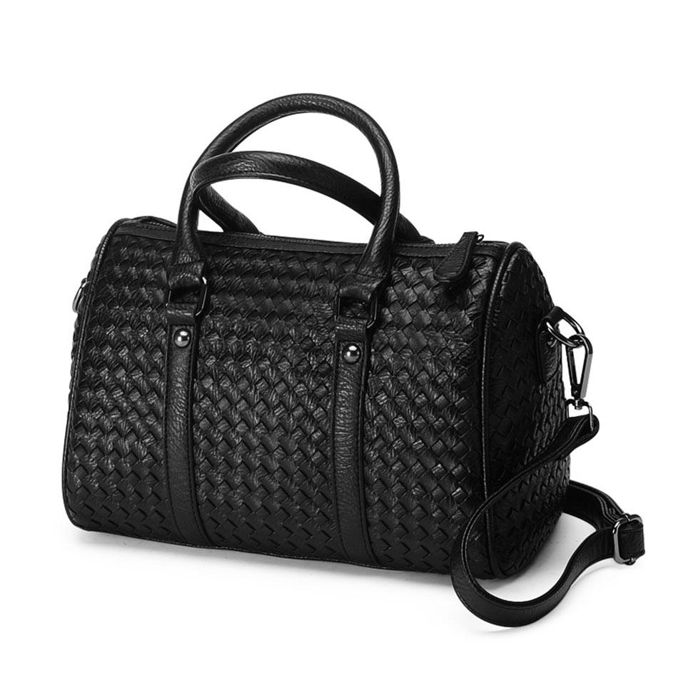 417d0cef292 Get Quotations · New Arrival Womens Famous Brand Handbags 2015 Black Bucket  Bag Handmade Knitting Shoulder   Handbags Fashion