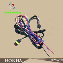 282080-1 Tyco 2 pin female connector and Molex 6 pin female connector 43025-0600 wire harness automotive
