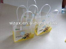 banana plastic funny small kids bag as gift