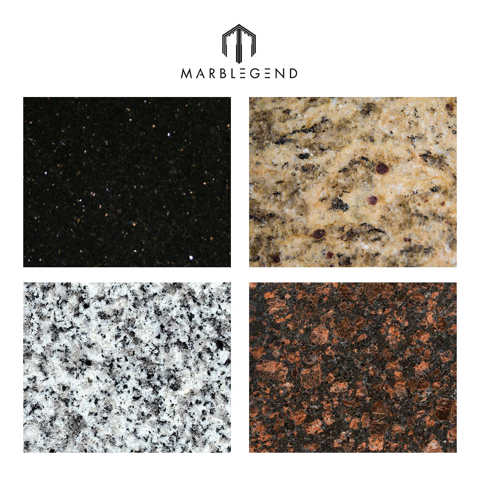 Customized Different Types Natural Stone Cheap Granite Tile Price