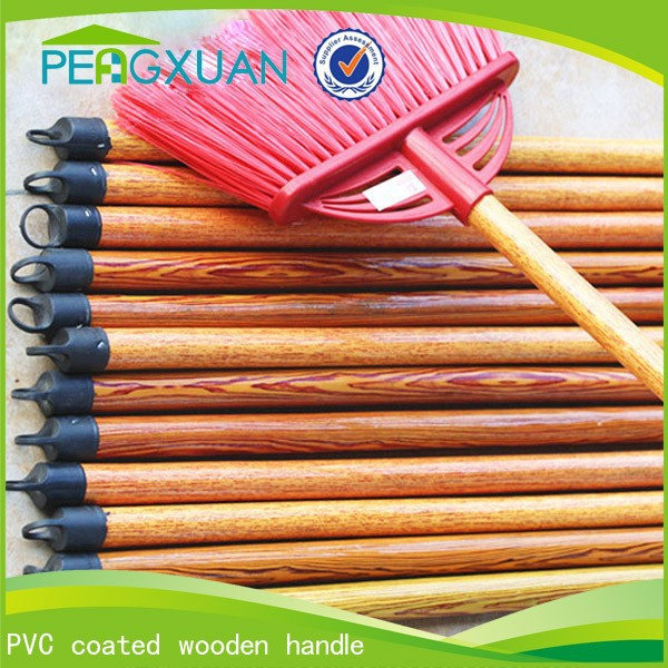 Household Cleaning OEM 120*2.2cm brush handle with Wood texture
