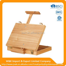 wholesale beech or pine wooden sketch box easels