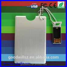 Sale top quality card type card usb flash drive