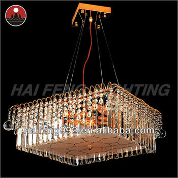 Small crystal pendant light for modern home decoration