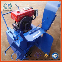 self walking small cow manure compost machine