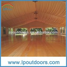 Luxury party marquee wedding tent roof lining and curtain for sale