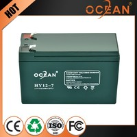 Unique reliable quality 12V 7ah factory supply external storage battery