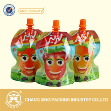 Stand up spout pouch for beverage/ Jelly spout bag/ liquid packing bag