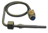 Series CBWR- Angle thermocouple temperature sensor with cable and single protection tube
