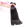 Patiya Manufacturing Company Silky Straight Lace Frontal and Human Hair Extension Bundles