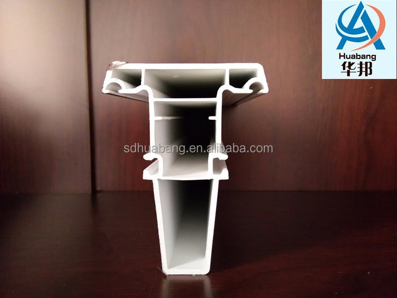 Anti UV material UPVC profile for window and door