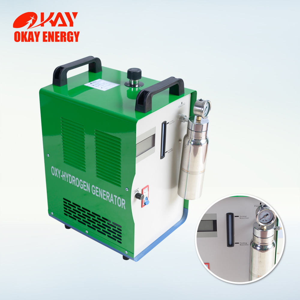 New HHO alternative energy portable ampoule sealing machine