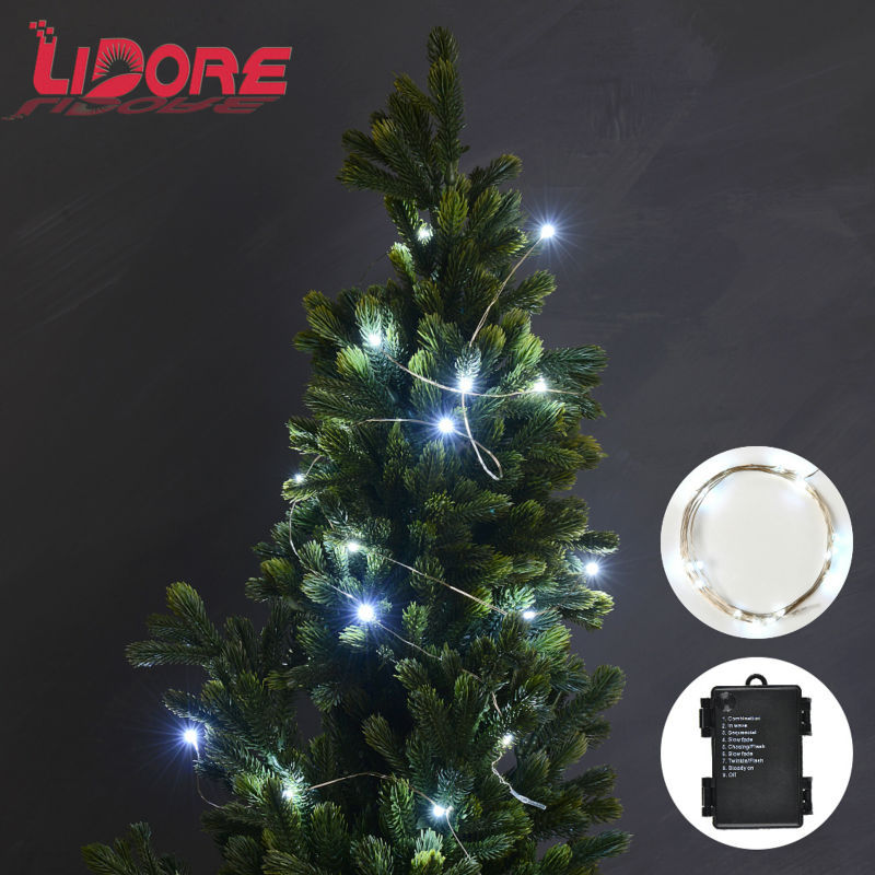 LIDORE Hot Sell Battery Copper Wire LED String Light