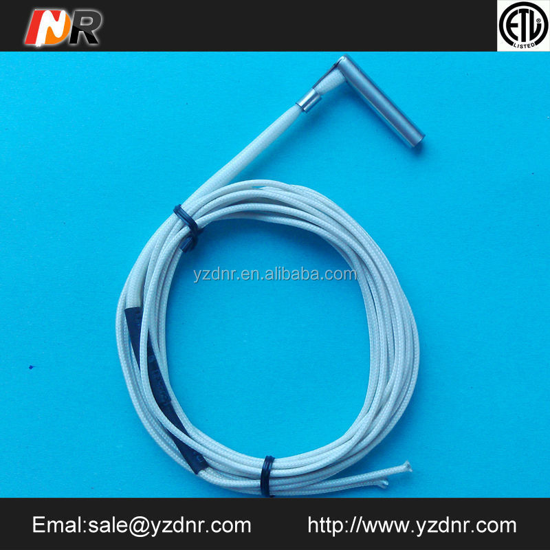 right angle cartridge heating element