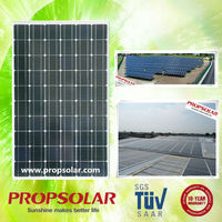 Propsolar monocrystalline solar panels/cells for sale direct china TUV standard