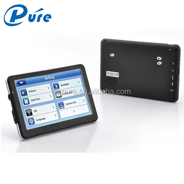 Factory supply cheap price 7 inch windows ce6.0 car gps navigation system