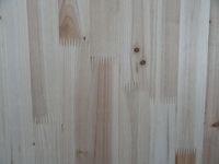 Rubber wood finger jointed laminated timber board / panel / wood