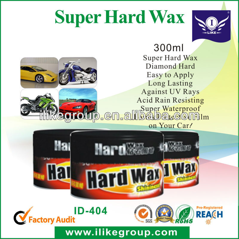 car care hard wax