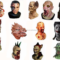 Hot Selling Rubber Horror Halloween Mask