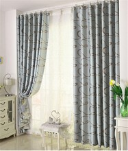 new style jacquard living room classic bedroom manual royal curtain design