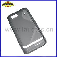TPU Case for Motorola XT615, S Line Wave Gel Cover