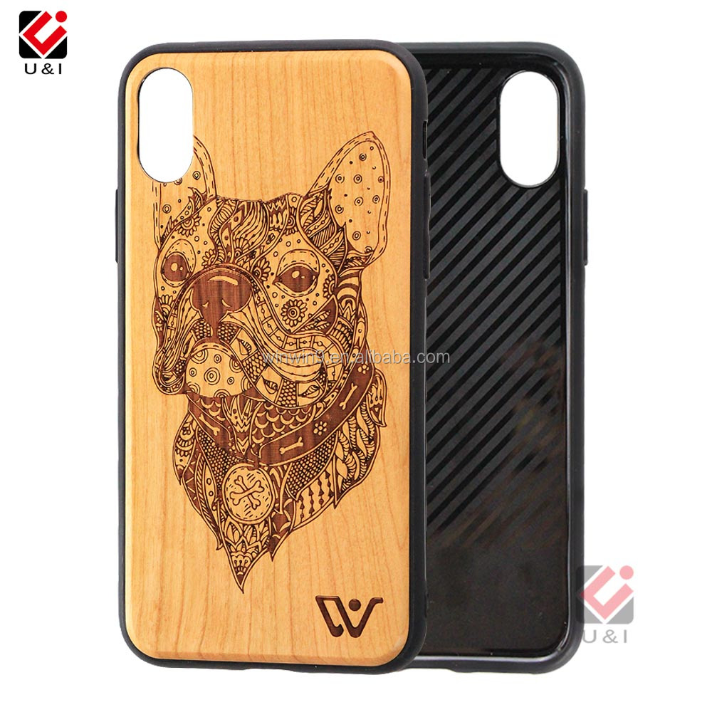 2018 Hot Sale Design Wood Phone Back Cover Case, import mobile phone accessories, wood cover for iphone 7