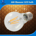 led filament bulb A60 B22 E26 E27 UL cUL approved bulbs clear frostd cover amber half mirror high brightness factory price