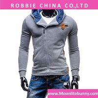 2016 Autumn & Winter Fashion Casual Slim Cardigan Assassin Creed Hoodies Sweatshirt Men Outerwear Zipper Jackets 3 Colors