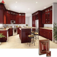 classical solid wood kitchen sets furniture with accessories made in China freestanding kitchen pantry units