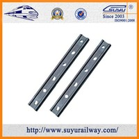 50# Steel 115RE 4Hole and 6 Hole Angle Splice Bar