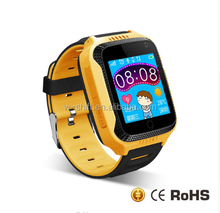 2017 wholesale cheap children smart watch phone KD13 telephone SOS gps tracker kids smart watch for ios and and android