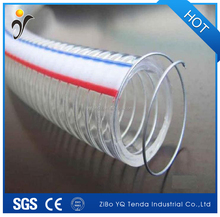 pvc steel wire hose/plastic steel wire hose