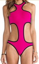 wholesale colorful 100% soft fit sexy ladies good quality neoprene swimwear