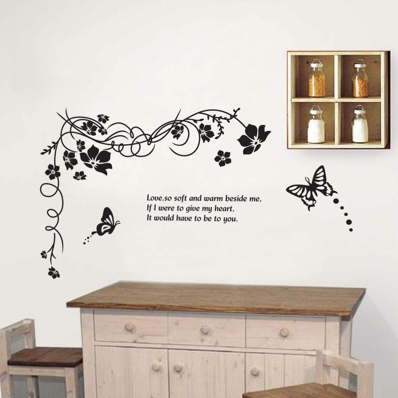 Walplus wall stickers art mural bambini bambini nursery camera da letto del bambino farfalla - Wall stickers camera da letto ...