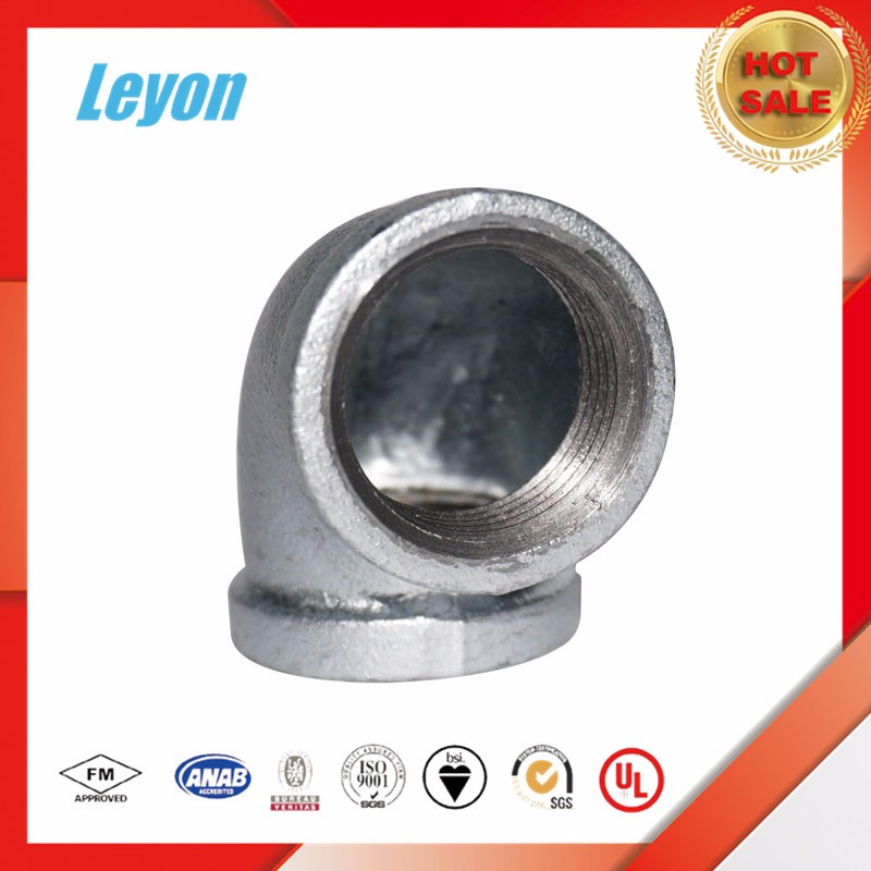 galvanized water Pipe and gas pipe compression Fitting