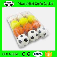 Logo Customized New Colorful Promotional PU Squeeze Ball (UCC-PUB-85)