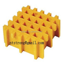factory direct sales ortho iso vinyl resin concave smooth gritted surface fiberglass molded grating