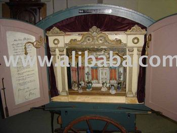 Bolschoi Mechanical Theater Music box with Symphonion
