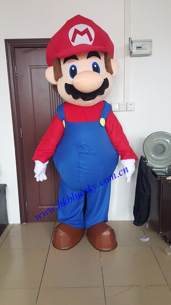 2016 New popular Super Mario Mascot,Super Mario Mascot Costumes