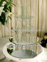 High quality acrylic cupcake exhibition stand
