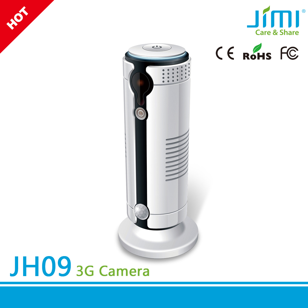 High Resolution Weatherproof 3g gsm indoor wireless gsm mms security camera with free cloud storage
