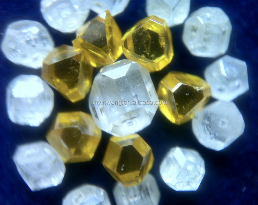 Gem Stone lab-grown polished HPHT synthetic diamond for jewelry decoration