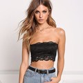 China Products Newest Design Black Floral Lace Bralette