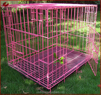 China Low Price Folding galvanized steel Set Metal dog cage