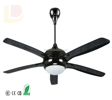 Large Size Industrial Ceiling Fan with LED Light ABS Material 56inch Cheap Ceiling Fan for Decoration
