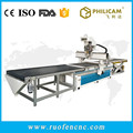 China philicam desktop and wood caving cnc router machine