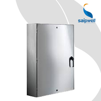 Electric Distribution Box 400*300*150 Waterproof High Quality Saip Saipwell Stainless Steel IP65 Power Distribution Box