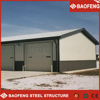 prebuild used industrial sheds for sale